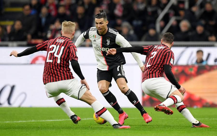 Juventus y Milán se miden por un lugar en final de Copa italiana