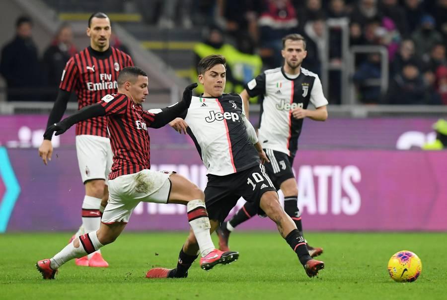 Postergan el Juventus-Milán por brote de coronavirus