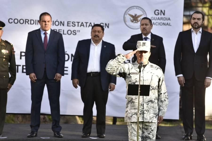 Designan a nuevo inspector de la Guardia Nacional en Morelos