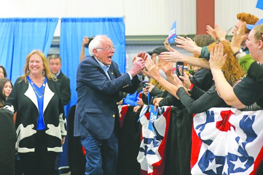 Bernie Sanders se lleva la  joya del Supermartes