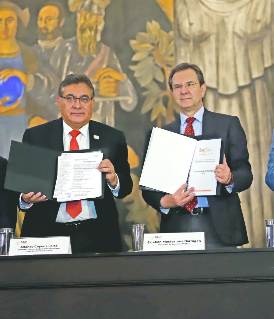 SEP y SNTE tienen una agenda común: Moctezuma