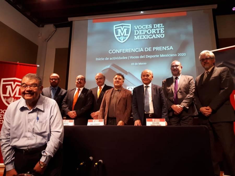 Voces del Deporte Mexicano 2020 alista premio a José Ramón Fernández