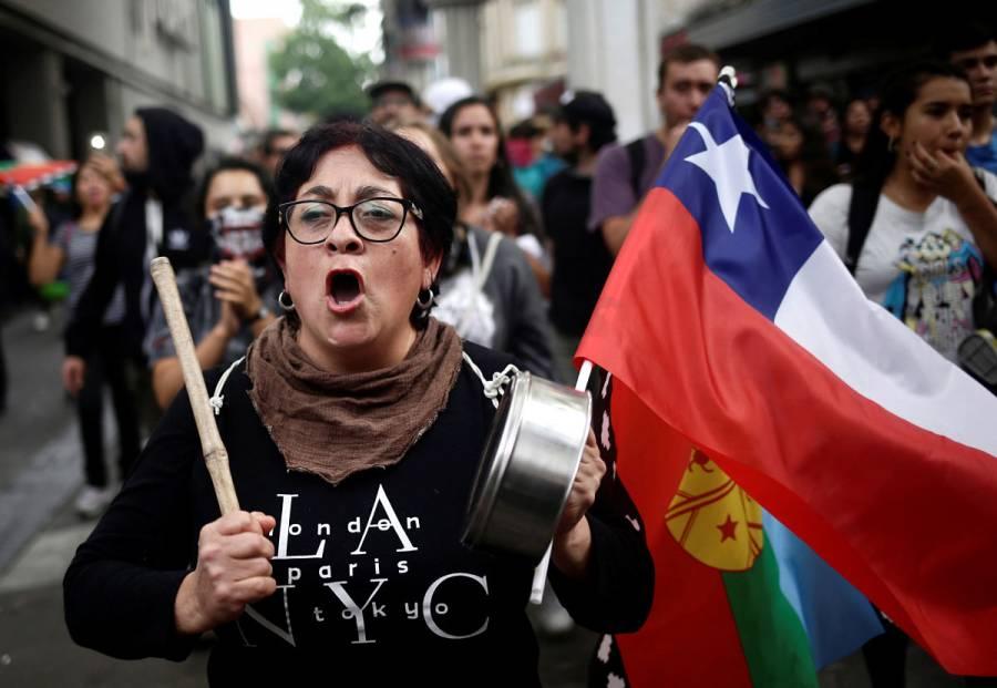 283 detenidos deja resurgimiento de protestas en Chile