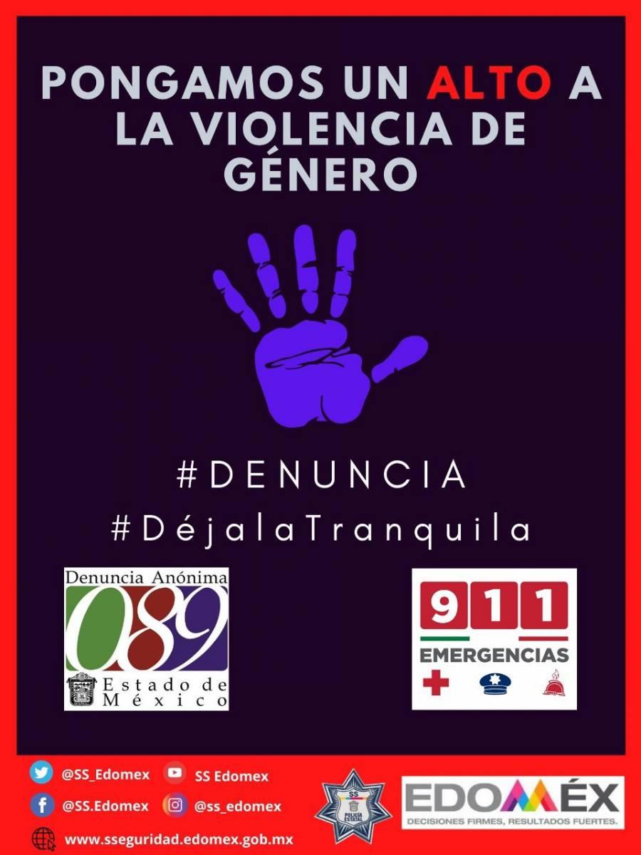 Más del 50% de mujeres del Estado de México sufren violencia en casa