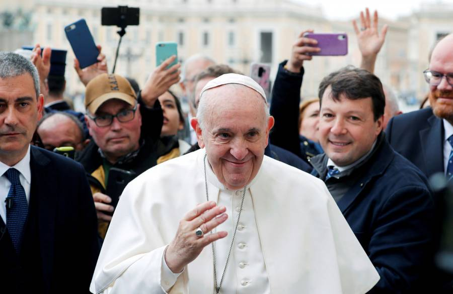 Papa Francisco da negativo en pruebas de coronavirus