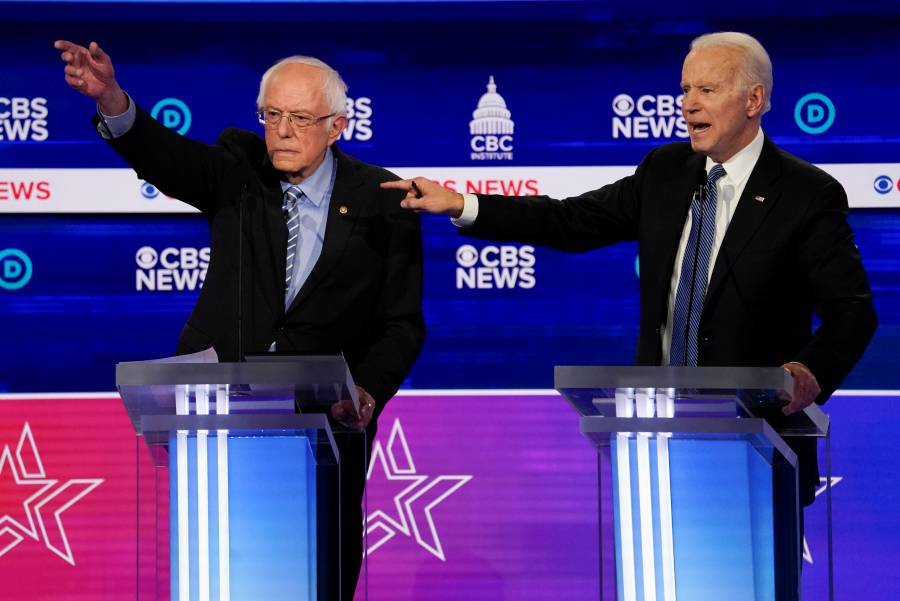 """Biden y Sanders buscan la candidatura demócrata en el """"Súper Martes"""""""