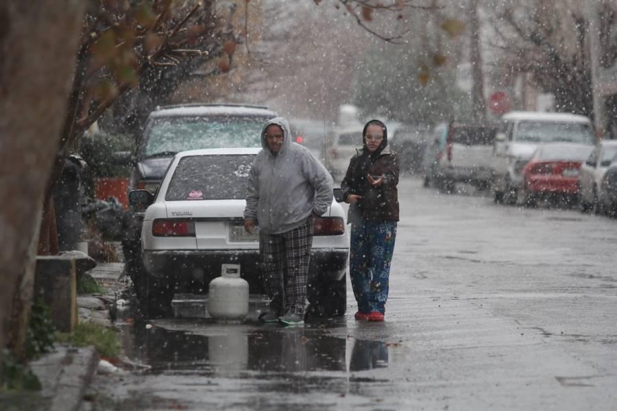 Frente frío 42 provocará nevadas en norte del país