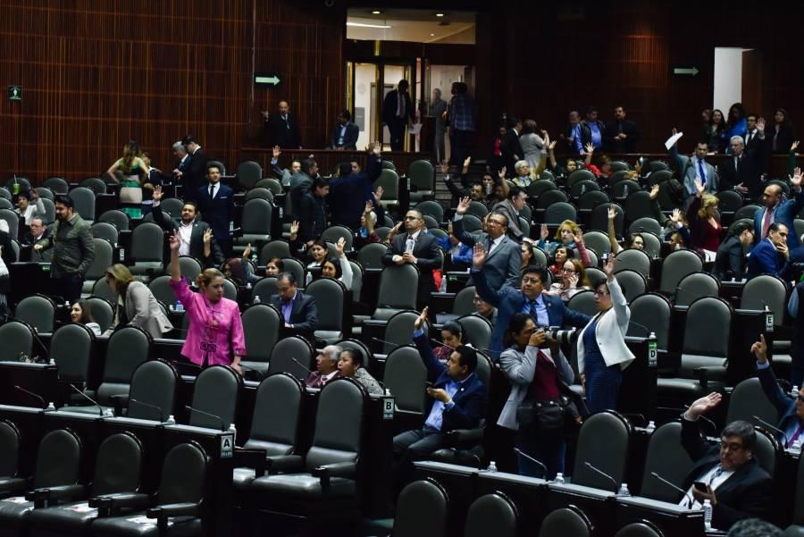 462 empleados de limpieza entran a nómina de la Cámara de Diputados