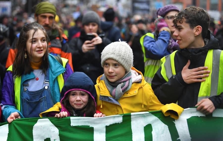 Compartirá Thunberg su visión sobre cambio climático con el Parlamento Europeo