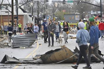 Tornados dejan al menos 19 muertos en Tennessee