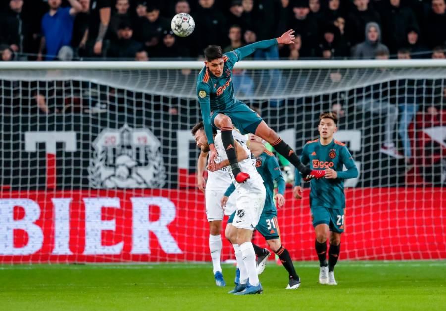 Ajax y Edson Álvarez eliminados de la copa