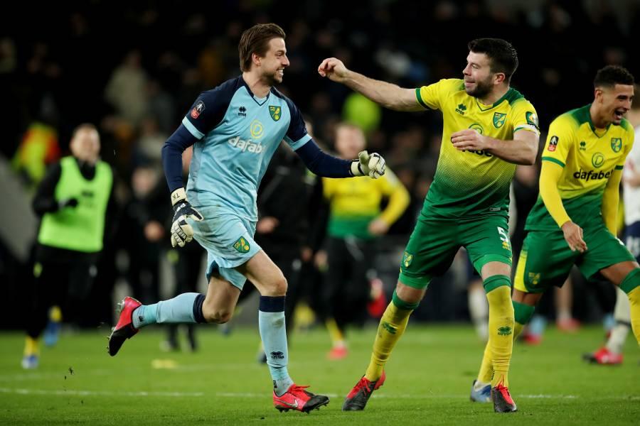 Norwich elimina al Tottenham en la FA Cup