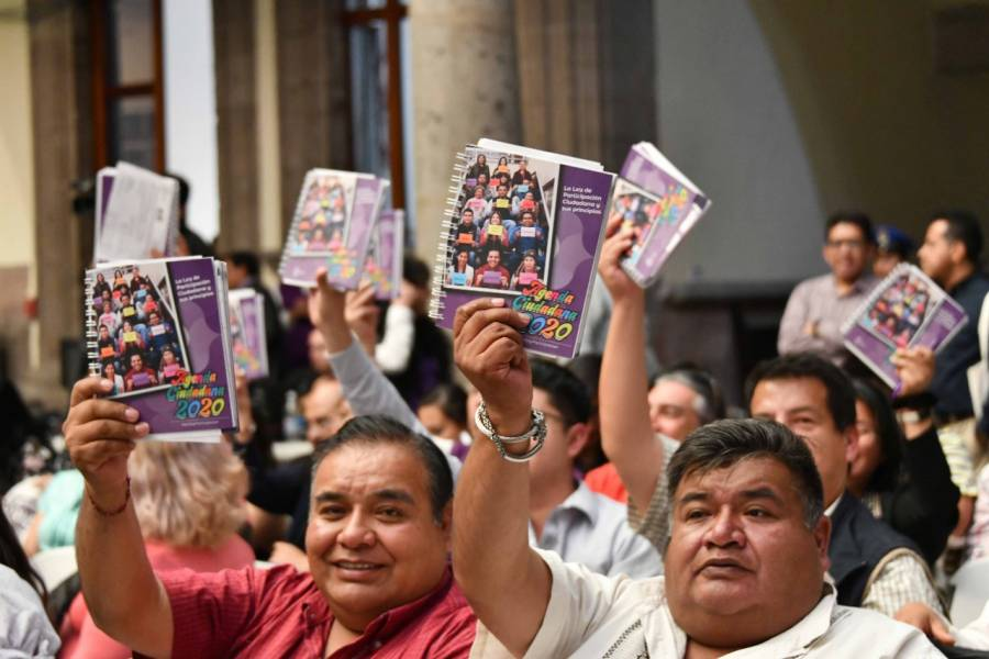 Promueve IECM derechos de capitalinos con Agenda Ciudadana 2020