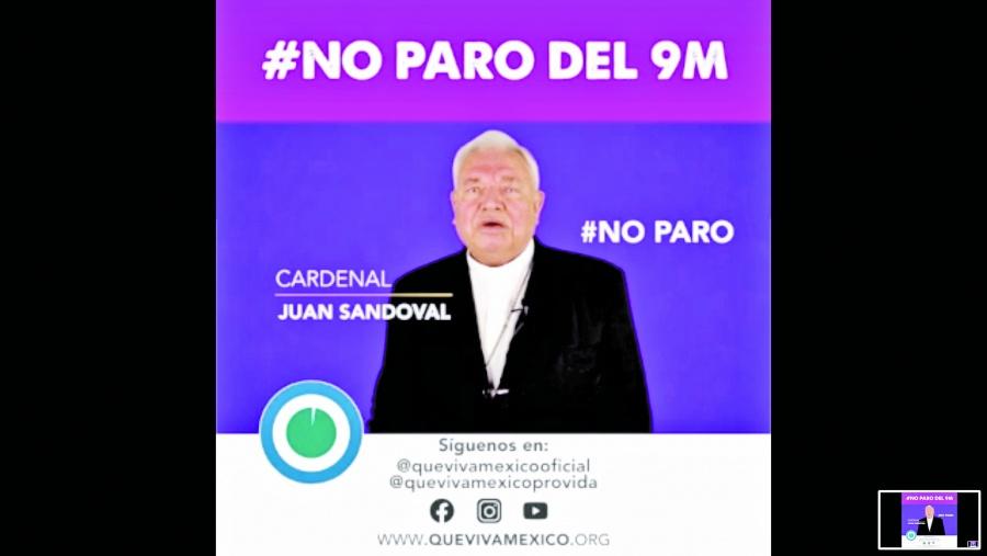 """Sandoval Íñiguez llama al """"no"""" al paro del 9 de marzo"""