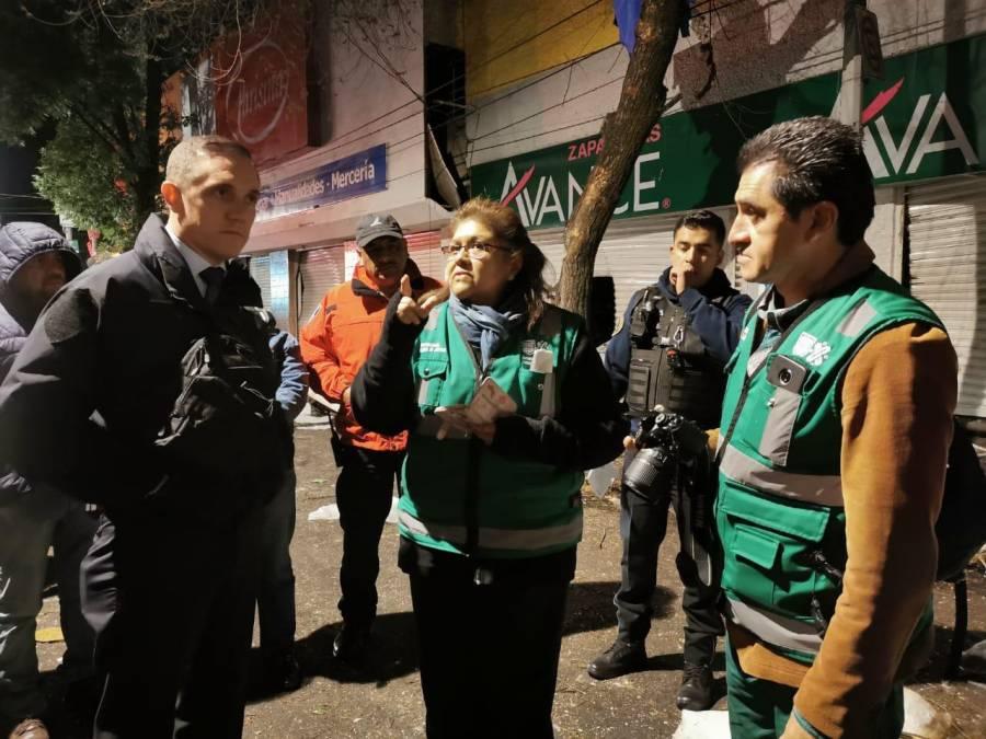 Se registra explosión en una tortillería de la alcaldía Cuajimalpa