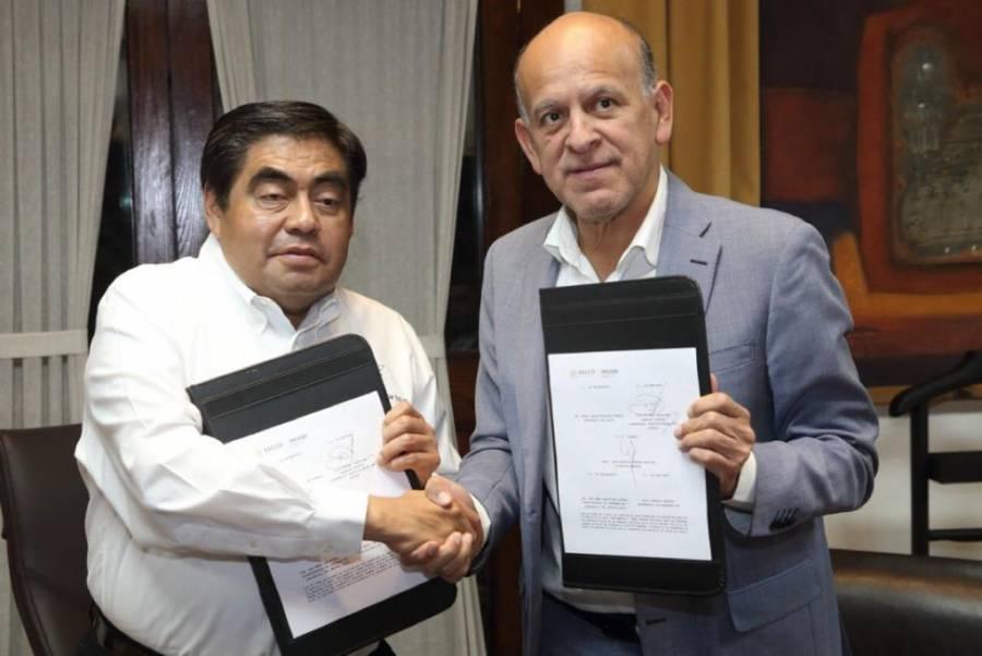 Puebla e Insabi firman acuerdo de coordinación