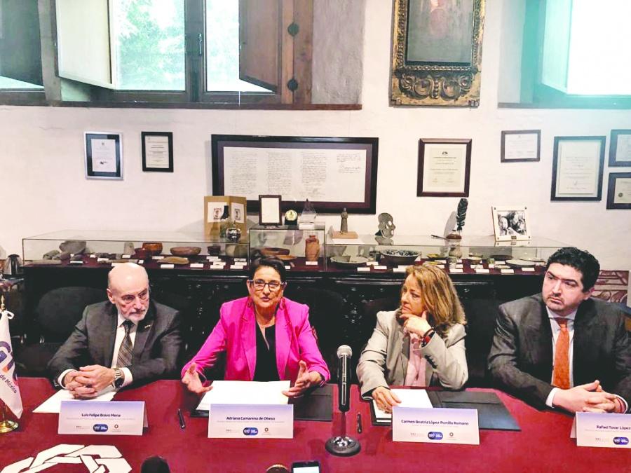 Guanajuato firma alianza procultura con el Claustro de Sor Juana