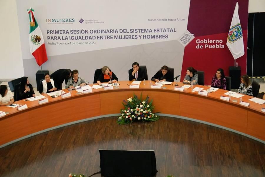Gobierno de Puebla fortalece el trabajo a favor de las mujeres, reconoce Inmujeres