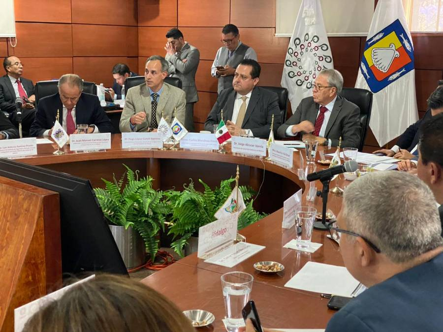 Conago y autoridades de salud se coordinan para enfrentar Covid-19