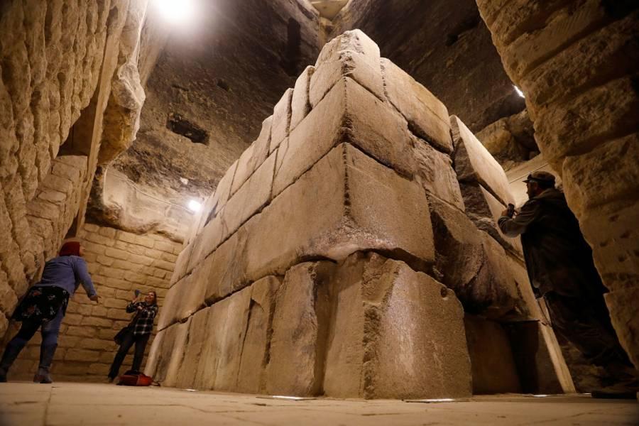Egipto reabre su pirámide más antigua tras 14 años de restauración