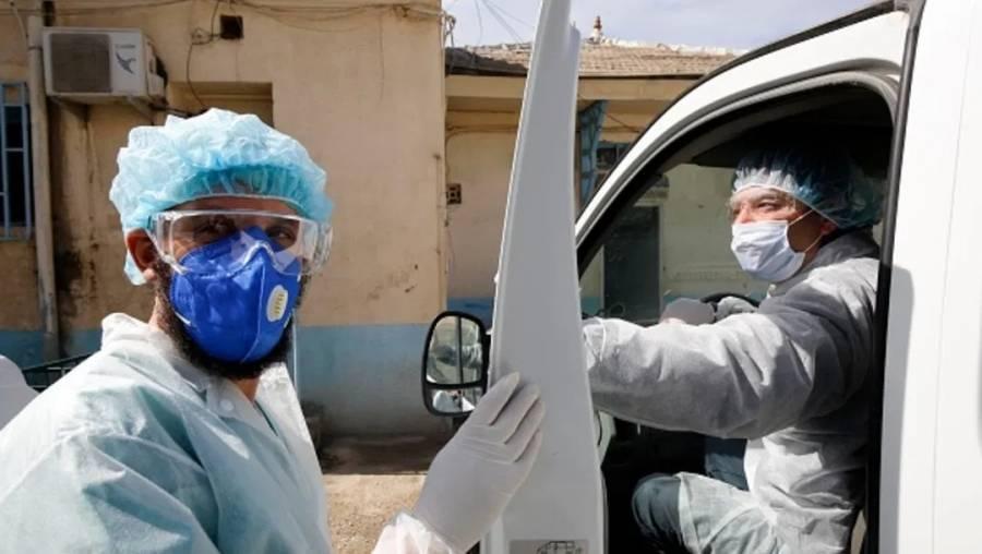 Infectados por coronavirus 16 integrantes de una familia en Argelia