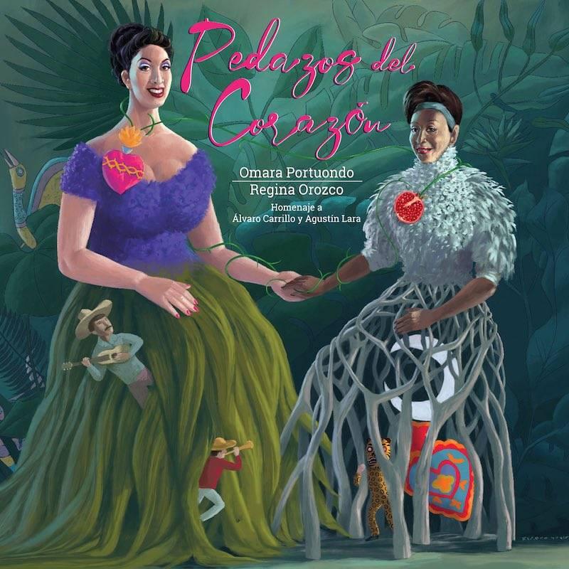 Regina Orozco y Omara Portuondo lanzan nuevo álbum