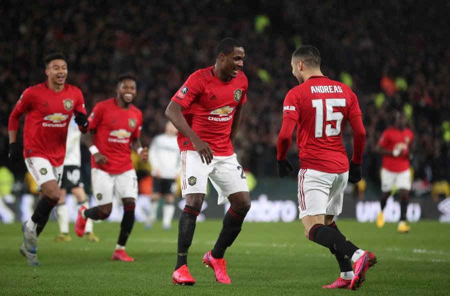 Manchester United elimina al Derby County de Rooney