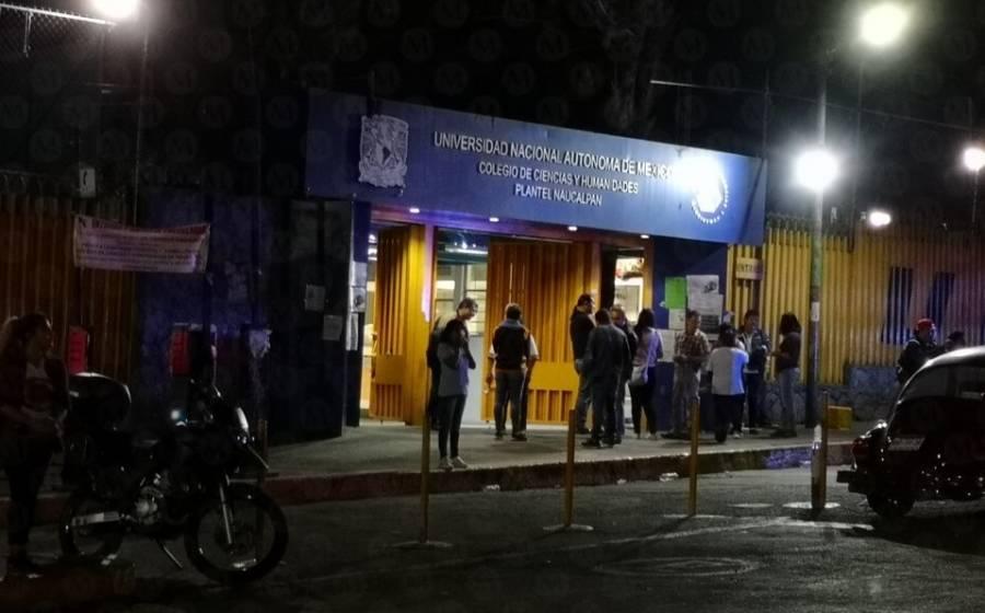 Encapuchados intentan tomar instalaciones de CCH Naucalpan