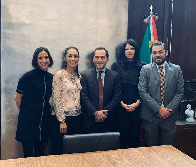 Comparte Sheinbaum a Herrera programa de inversiones económicas