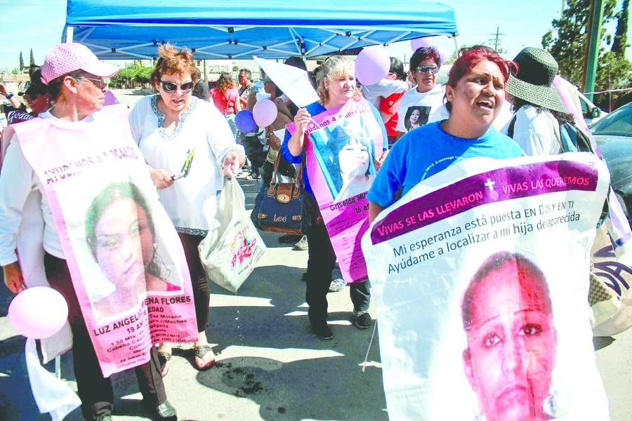 A 27 años de las muertas de Juárez, impera el feminicidio