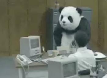Con gif de panda, Christopher Landau se disculpa por fallas en emisión de visas