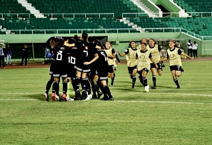 México sufre ante Haití, pero consigue su boleto al Mundial Femenil Sub-20