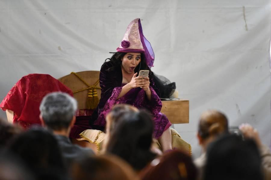 Conmemora IECM Día Internacional de la Mujer con obra de teatro