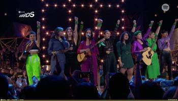Música sin género: Spotify Awards apoyó al movimiento #UnDíaSinNosotras