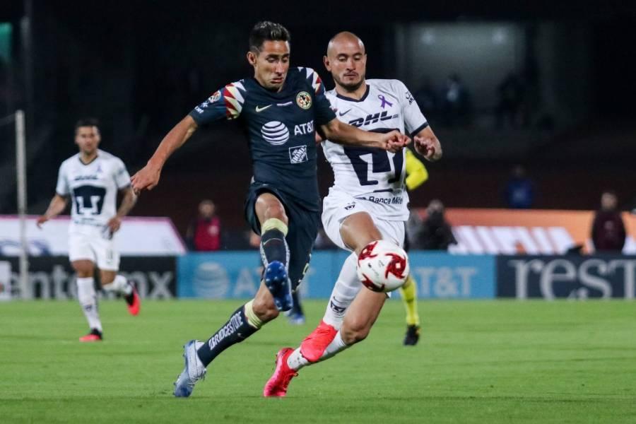Pumas y América firman empate en Clásico Capitalino