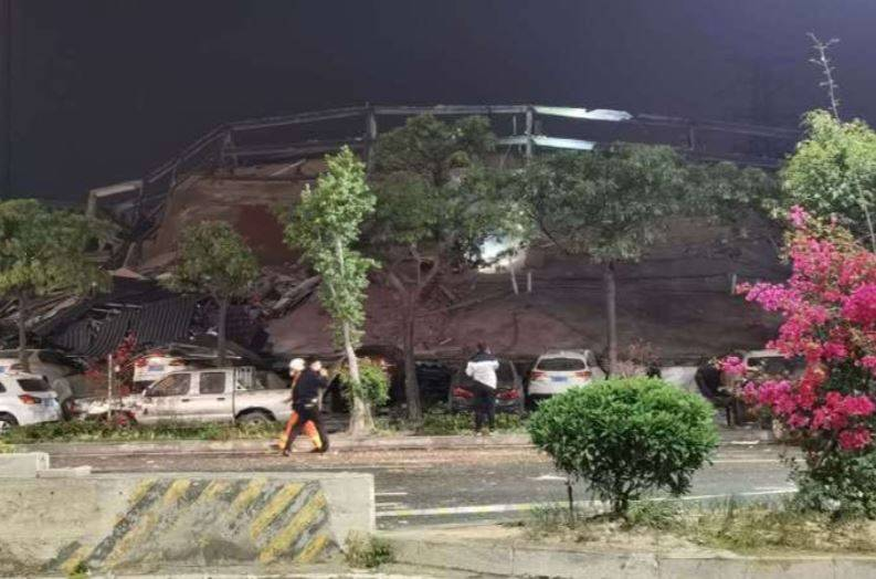 Se derrumba hotel para cuarentena de infectados con Covid-19 en China