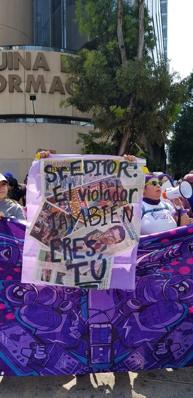 Mujeres exigen que medios de comunicación no lucren con casos de violencia de género