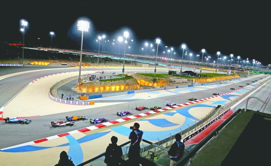 Coronavirus obliga al GP de Bahréin a correr sin público
