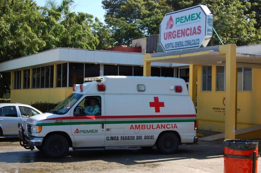 Alta médica de tres pacientes afectados por medicina contaminada: Pemex