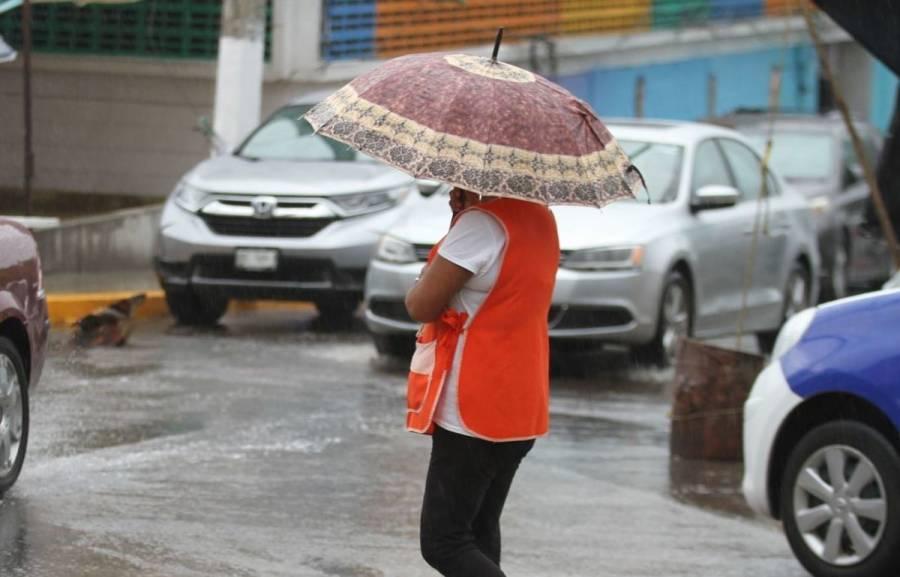 Se esperan lluvias y vientos fuertes en diferentes estados del país