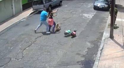 Al Reclusorio Oriente sujeto que agredió a mujer que paseaba a su perro