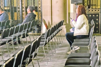 Se registra una mañanera con pocas mujeres en el Palacio