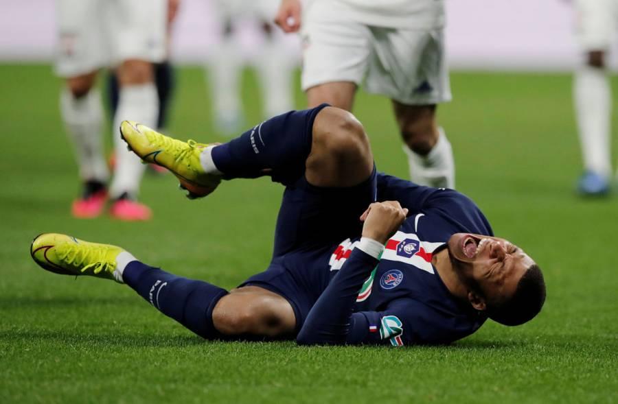 Mbappé es duda en PSG para revancha ante Borussia Dortmund