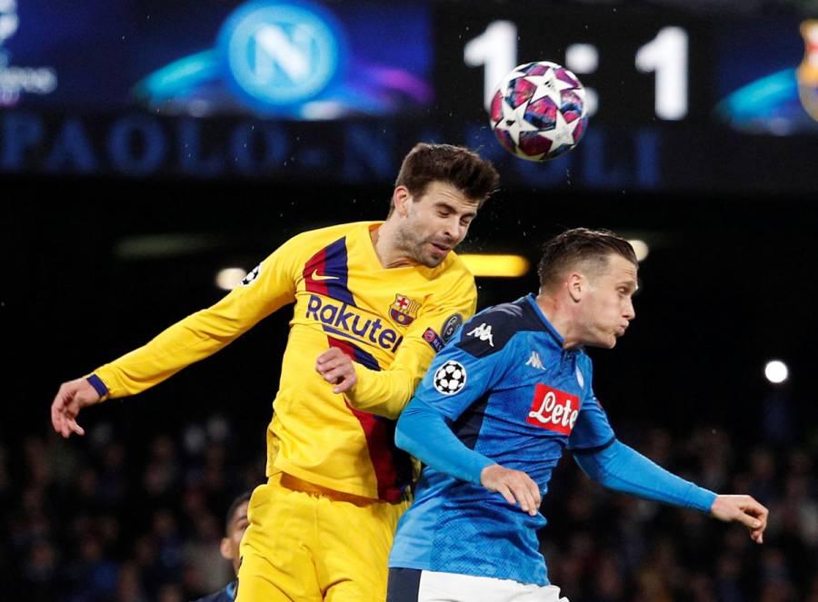 Barcelona-Napoli de Champions se jugará sin espectadores