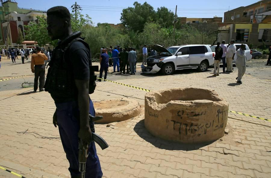 Caen presuntos autores de atentado contra ministro de Sudán