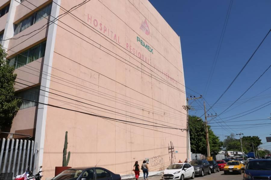Muere cuarto paciente en Hospital de Pemex en Tabasco