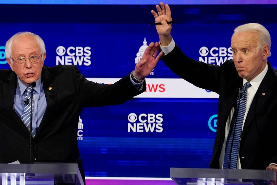 Esperan incrementar su distancia Biden y Sanders en primarias demócratas