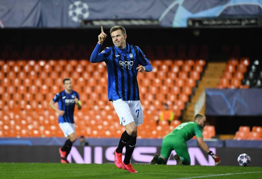 Con poker de Ilicic, Atalanta tumba al Valencia en la Champions League