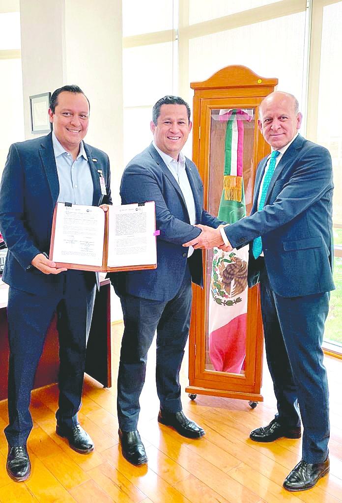 Sinhue firma acuerdo de coordinación con Insabi