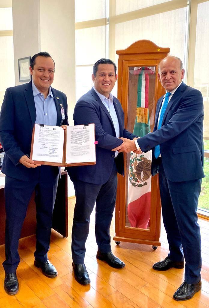 Guanajuato firma acuerdo de coordinación y no adhesión con INSABI